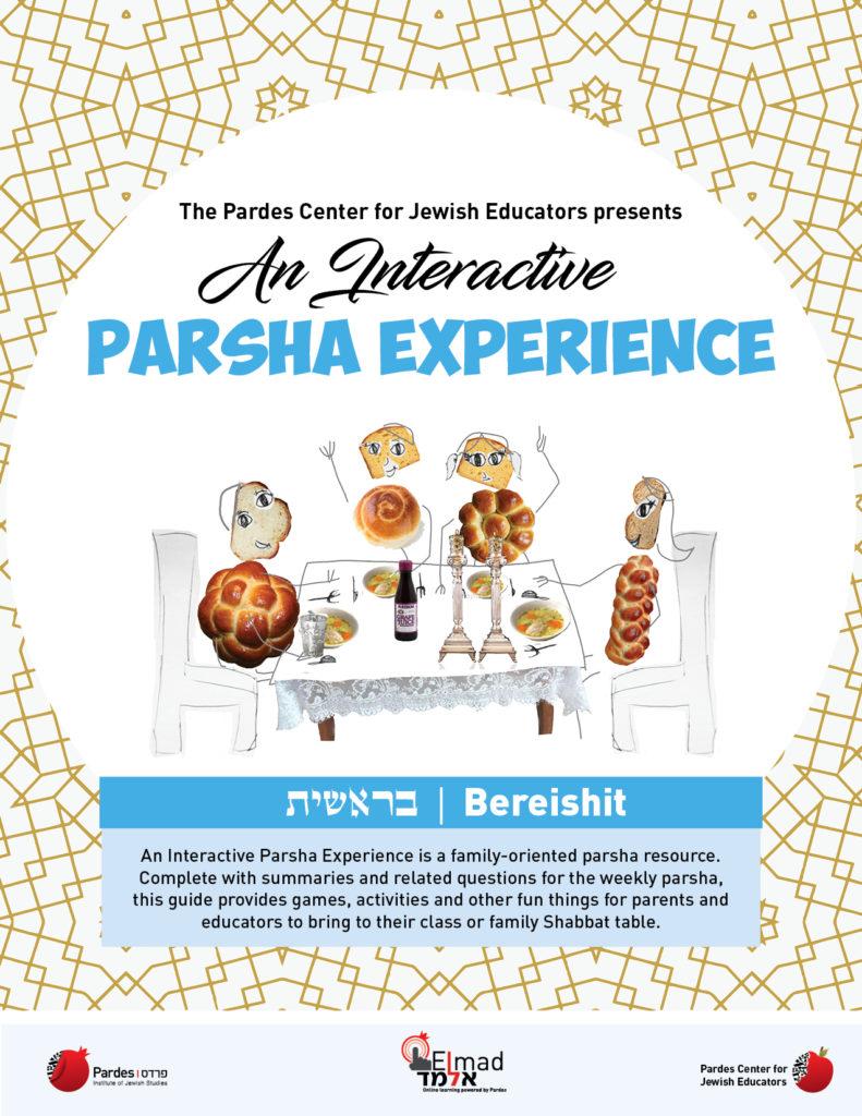 an interactive parsha experience: bereishit