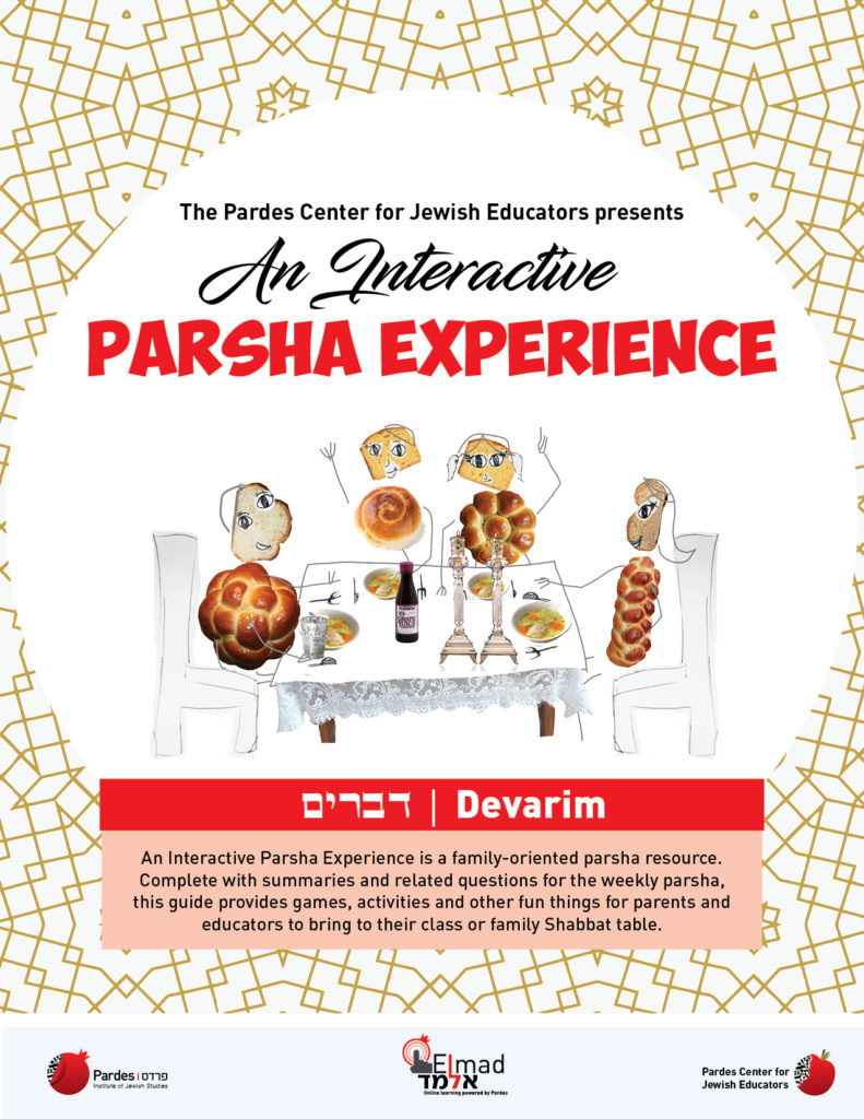 an interactive parsha experience: devarim