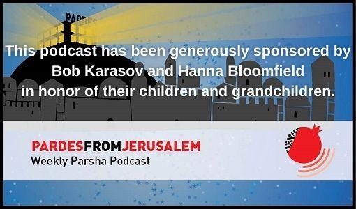 bob karasov sponsorship pardes from jerusalem
